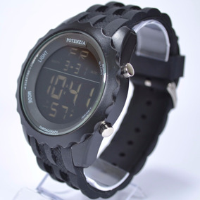 Relógio Masculino Original Potenzia Digital Militar 18k Alar