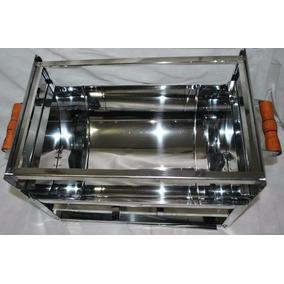 Promoção Churrasqueira Em Inox 430 - 50 X 25 Cm