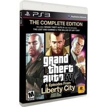 Gta Iv 4 + Episodes From Liberty City - Midia Fisica - Ps3