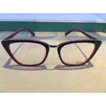 Armacao Oculos/p Grau Pronta Entrega Modelo Novo