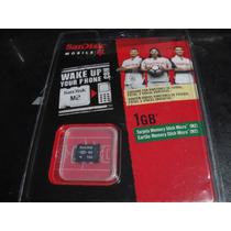 Memorias Micro Stick Micro M2, De Un 1gb Sandisk En Remate