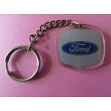 Chaveiro Acrílico Antigo - Ford - Divel Joaçaba - Sc - P4