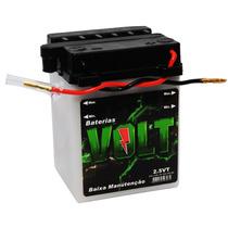 Bateria Moto 2,5 Ah Vt 12v Volt Cg 125 Ml Turuna Titan 99