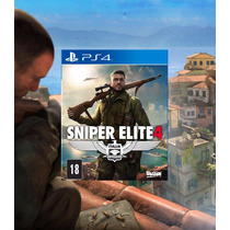 Sniper Elite 4 Ps4 Psn Envio Digital Imediato 1ª