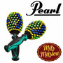 Pearl Pfm-20 Maracas Fibra Beaded Maracas (par) Multicolor