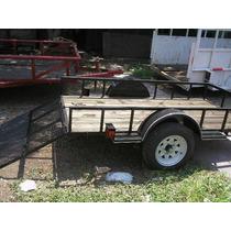 Remolque Multiusos Cama Baja Cuatrimotos Camionetas Mty 17