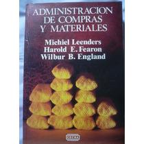 Administración De Compras Y Materiales