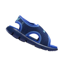 Sandália Papete Nike Infantil Sunray Adjust 4 Azul Original