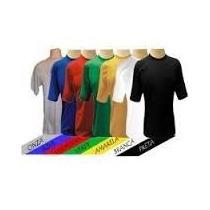 10 Camiseta Lisa Manga Curta Pv Sublima Malha Fria Profissio