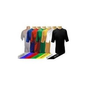 5 Camiseta Lisa Manga Curta Pv Sublima Malha Fria Prof