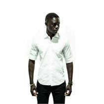Camisa Blanca De Noche Estampa Calaveras Al Tono - Relax
