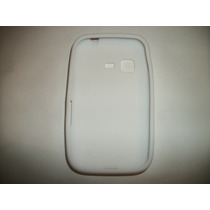 Protector Silicon Case Samsung Chat 2 S5270 Color Blanco!!!