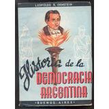 Historia De La Democracia Argentina - Leopoldo Ornstein 1946