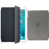 Capa Smart Cover Apple Ipad Air 1 Case Couro Luxo + Película