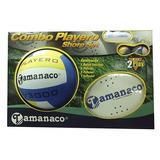 Set Playero Tamanaco Balón De Voleibol Y Raquetas