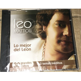 Cd Leo Mattioli Lo Mejor Del León Nuevo
