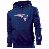 Blusa Moleton Canguru - New England Patriots Nfl