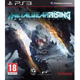 Metal Gear Rising Revengeance - Digital Ps3