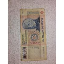 Billete De 1.000.000 Pesos Argentino Ley 18188 !!