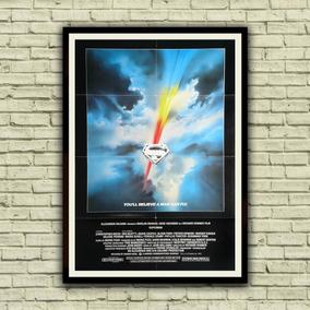 Antigo Poster Cartaz Filme - Superman, 1978