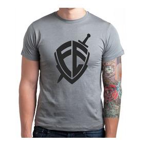Camiseta Camisa Religiosa Escudo Da Fé - Promoção Góspel