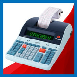 Calculadora Olivetti Logos 802 - Factura A - Uso Intensivo