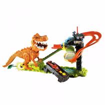 Pista Hot Wheels - Ataque Do T-rex - Mattel - Ffw82