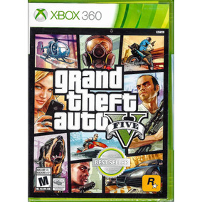 Grand Theft Auto V Gta 5 Xbox 360, Sellado ¡envio Gratis!