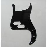 Pickguard Bajo Precision Bass Negro 3 Ply (fender, Squier)
