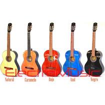 Guitarra Clásica De Estudio + Funda + Afinador De Regalo !!!