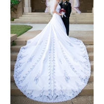 Vestido De Noiva 38 Michaelangelo - Pronta Entrega - Vn00029