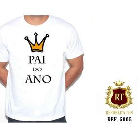 Camiseta Personalizada Gravida Gestante Pai Do Ano Papai