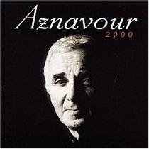 Cd Charles Aznavour - 2000 (usado/otimo)