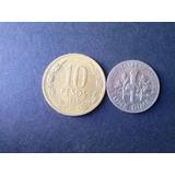 Moneda Estados Unidos One Dime Niquel 1971 (c45)