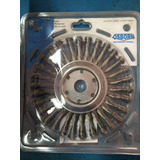 Escova Circular De Aço Inox Trançada 7 Osborn - 65335-0008