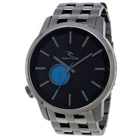Relógio Rip Curl Detroit Gun Blue A2548 Azul Steel Aço A2227