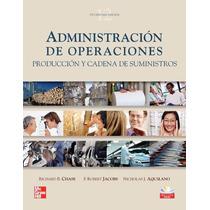 Libro: Administración De Operaciones. Producción Y... - Pdf