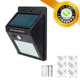 Lámpara Solar Exterior 20 Led Súper Brillante: Finca Garage