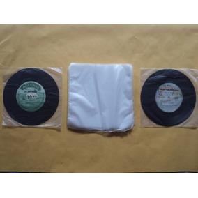 500 Plásticos Internos Disco De Vinil Compacto- 18x18x0,04