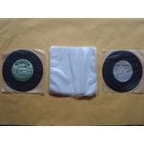 100 Plásticos Internos Disco De Vinil Compacto- 18x18x0,04