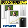 Kit Portero Visor Commax Lcd 2 Visores Cdv43k +telefono Adic