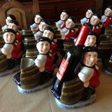 Porta Vinos Cerámicos ,pintados A Mano,souvenirs