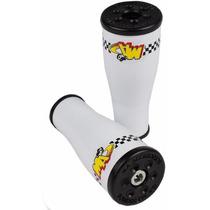 Slider P/ Moto Twister Dianteiro Kit Com 2 Peças - Branco