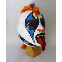 Psycho Clown. Máscara De Látex. Luchador Envío Gratis