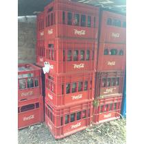 Cajon Coca Cola Chica Con Envases Vacios