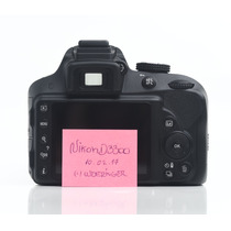 Camera Dslr Profissional Nikon D3300 Lente 18-55mm Vrii Kit