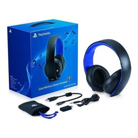 Headset Gold Wireless Stereo Ps4, Ps3 Y Psvita