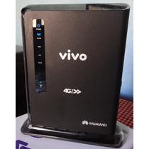 Modem Roteador 4g 3g Vivo Box Original Anatel Antena Rural