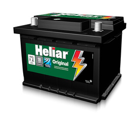 Bateria Heliar Original 12v 60ah - 18 Meses De Garantia