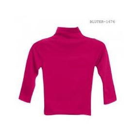 Blusa Termica Cuello Alto Niña Lote 12 Pzs Envio Gratis
